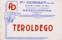 Etichetta Teroldergo 1945