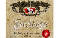 Etichetta Teroldego 1977